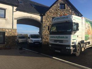 Insulation Trucks and vans
