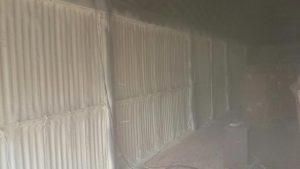 Shed Spray Foam insulation