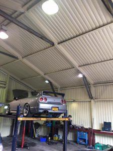 Garage Spray insulation