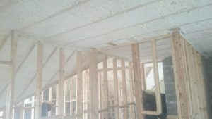 Dormer Spray foam Insulation