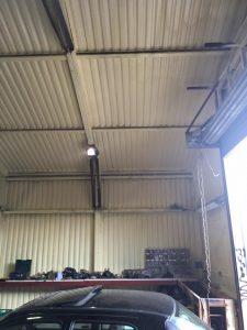 Garage Spray Foam insulation