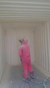 container foam insulation