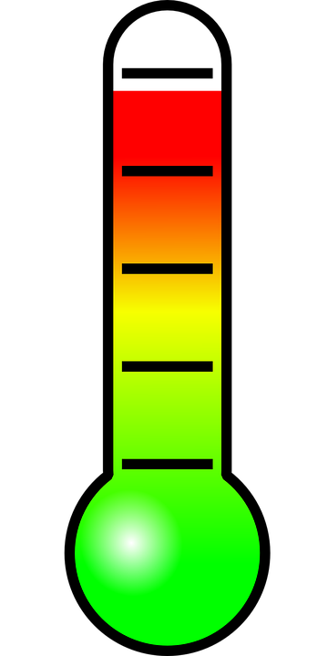 clipart of thermometer
